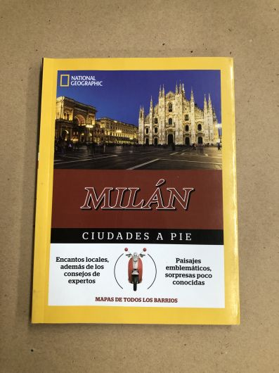 Guía Milán a pie 2016- National Geographic