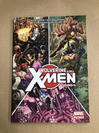 Wolverine y los X-Men- Volumen 3
